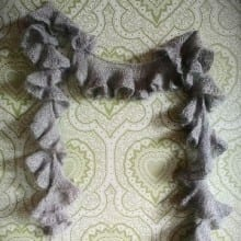 Ruchette Scarf Lace Singles / Soft spun Lace Designer: Carle Dehning