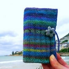 Scrappy Crochet hook Case Supertwist Sock / Man Sock Designer: Carle Dehning