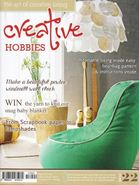 Creative Hobbies  Issue 22 Featured Patterns: Chinese Lanterns Seaside Snug Hug Blanket
