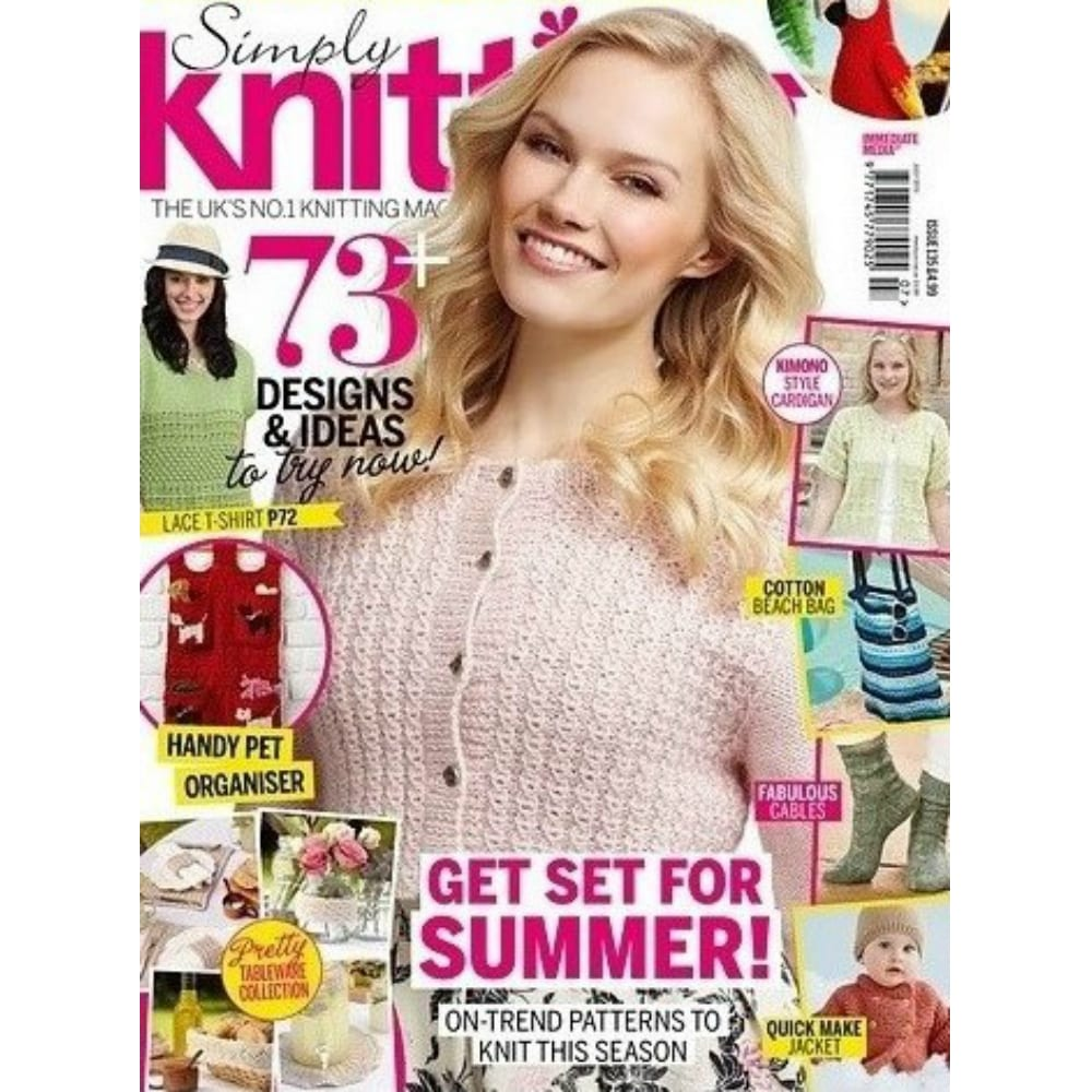 Simply Knitting Issue 135 July 2016 Article: Nurturing Fibres in the UK