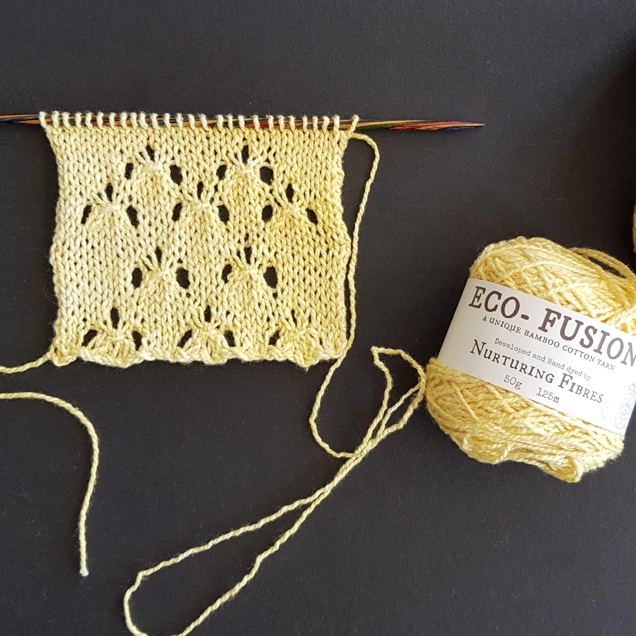 Knitting Stitch Pattern : Dotty | | Nurturing Fibres